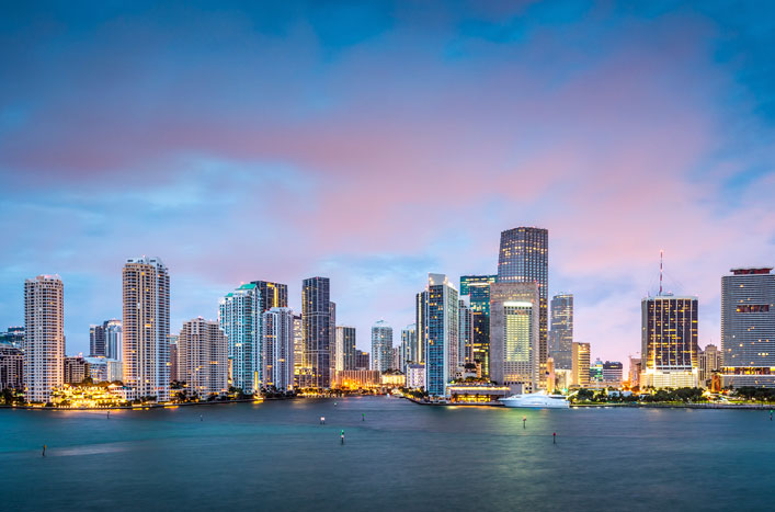 Join MIAMI - Miami Skyline