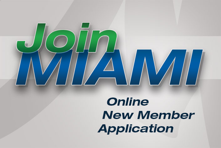 Join MIAMI - Online New Member Application