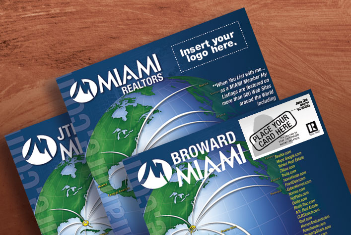 CO-Branded MIAMI REALTORS Marketing Materials