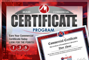 MIAMI Commercial Certificate Program