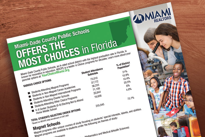 Miami-Dade County - Public Schools - Co-branded flyer