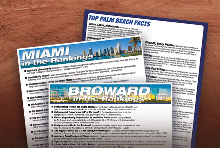 MIAMI in the Rankings - Co-branded flyer