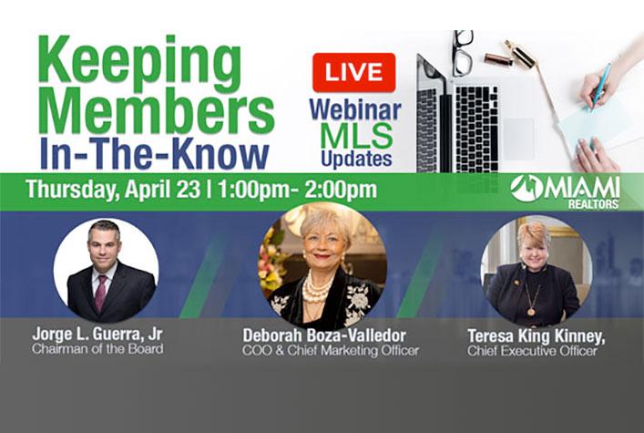 webinar - keeping member in the know