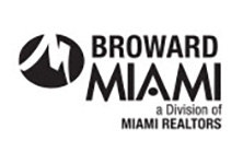 MIAMI Realtors Broward logo in black