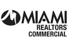 MIAMI Realtors commercial logo in black