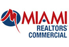 MIAMI Realtors commercial logo in color