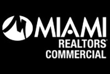 MIAMI Realtors commercial logo in white