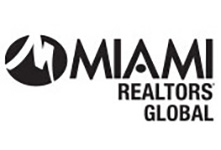 MIAMI Realtors global logo in black