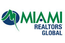 MIAMI Realtors global logo in color