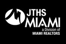MIAMI Realtors JTHS logo in white