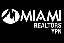 MIAMI Realtors YPN logo in White