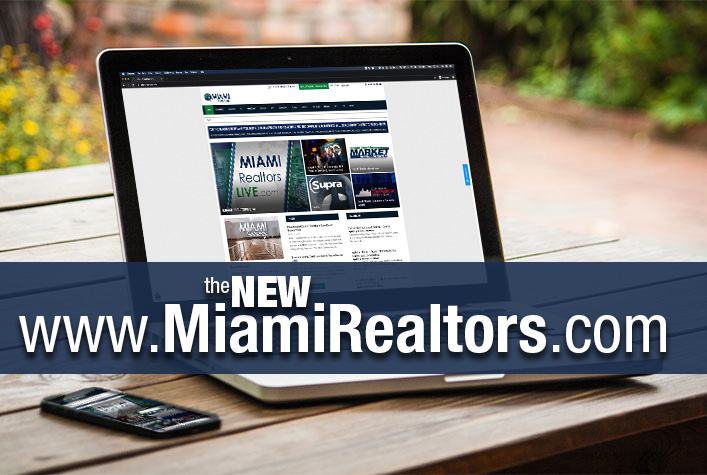 The New MiamiRealtors.com website