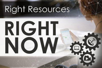 right resources right now
