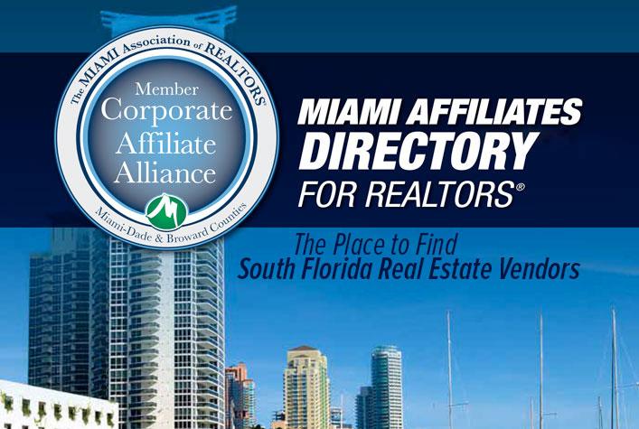 MIAMI Affiliates Directory for Realtors