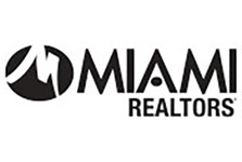 MIAMI Realtors logo in black
