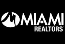 MIAMI Realtors logo in white
