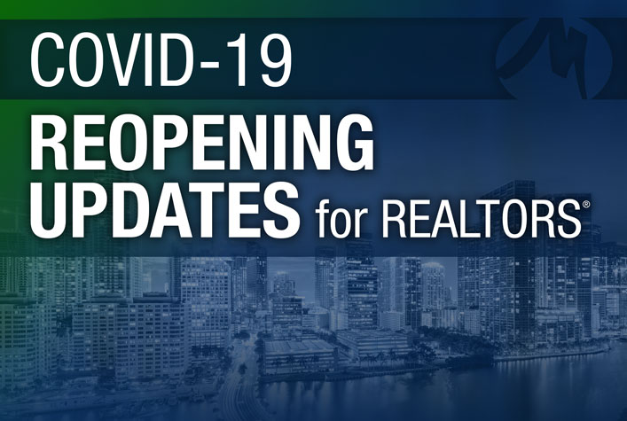 COVID-19 Reopening Update for REALTORS