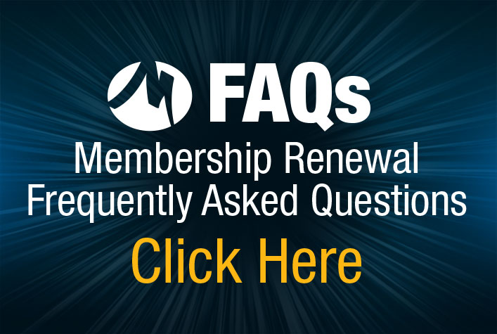FAQs Membership Renewal Frequently Asked Questions