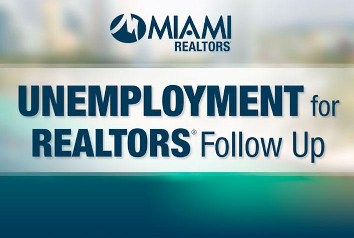 Unemployment for Realtors Follow Up