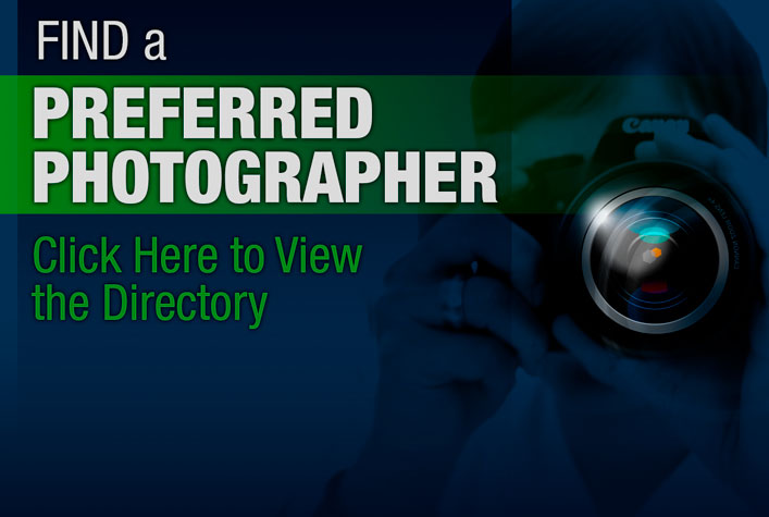 Find a Preferred Photographer. Chick Here to View the Directory