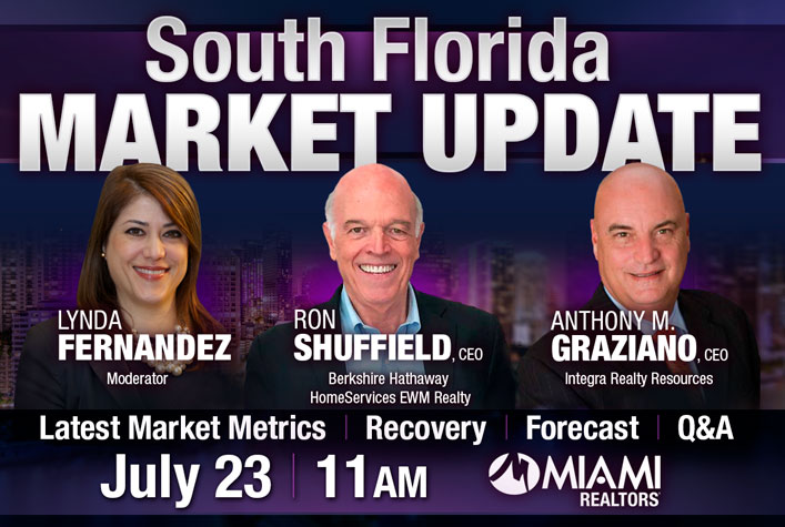 South Florida Market Update - July 23 - 11am