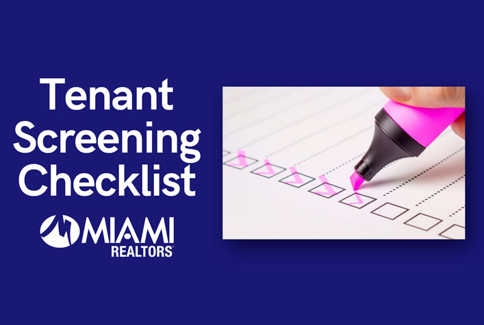 Tenant Screening Checklist