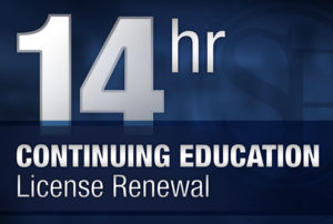 14 Hour Real Estate Continuing Education