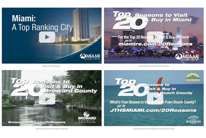 Why Miami? Shareable South Florida Marketing Videos.