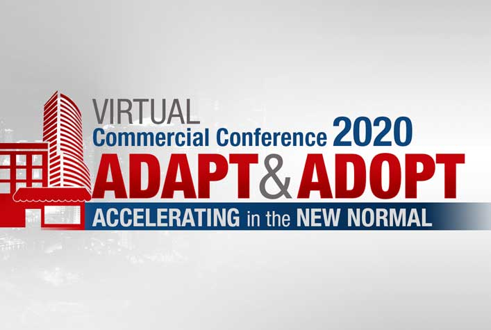 Virtual Commercial Conference - Adapt & Adopt - Accelerating in the New Normal