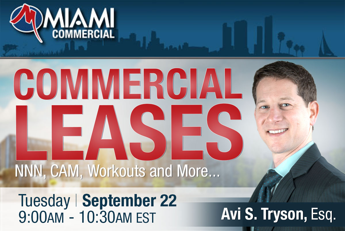 Commercial Leases: NNN, CAM, Workouts and More...