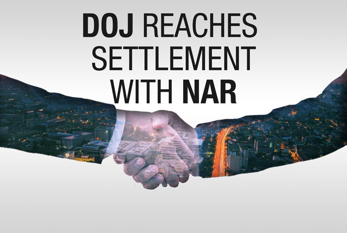DOJ reaches settlement with NAR