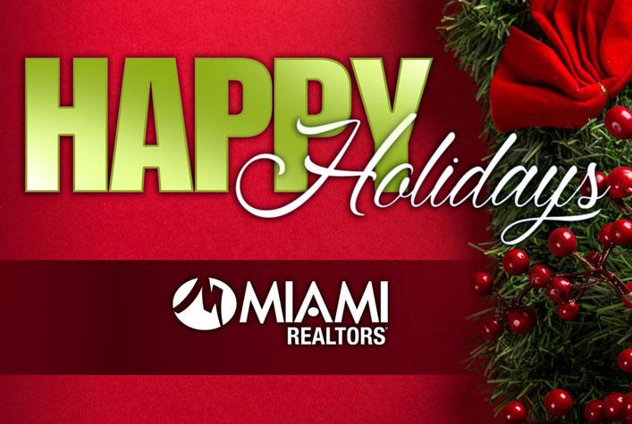 Happy Holidays from MIAMI REALTORS
