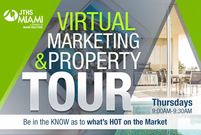 JTHS Virtual Marketing & Live Property Tour