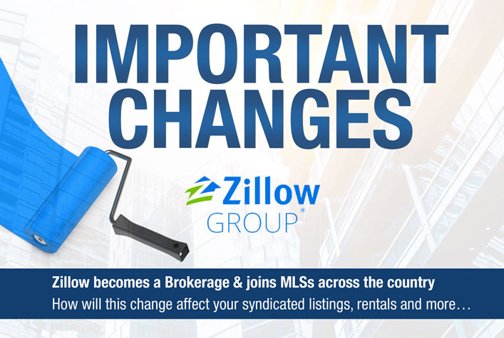 Zillow becomes a Brokerage & joins MLSs across the country How will this change affect your syndicated listings, rentals and more…