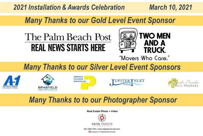 JTHS-MIAMI Installation and Awards Sponsors