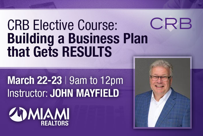 CRB Elective Course: Building a Business Plan that Gets RESULTS
