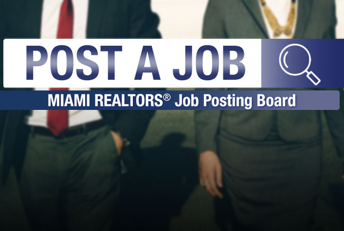 Access Agreement for MIAMI REALTORS® Online Job Board