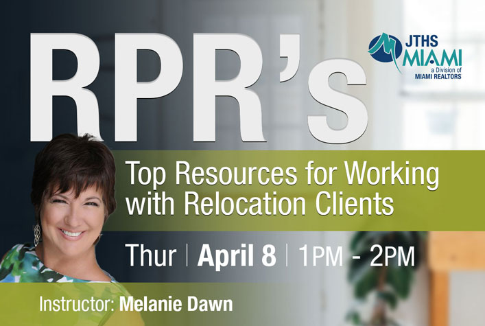 RPR's Top Resources for Working with Relocation Clients