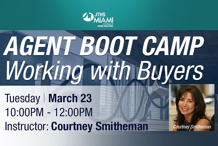 Agent Boot Camp – Working with Buyers