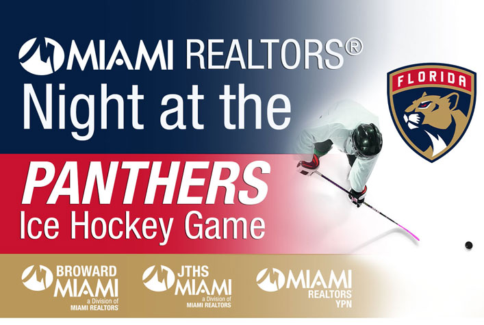 MIAMI REALTORS Night at the Panthers Ice Hockey Game