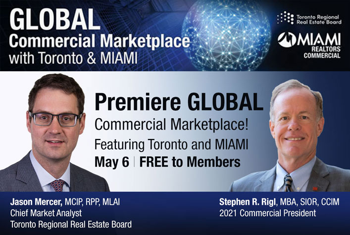 Global Commercial Marketplace with Toronto & MIAMI