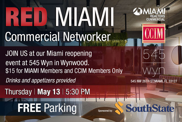 RED MIAMI First in Person Commercial Networker