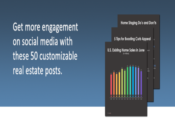 50 Real Estate Social Media Templates by TORCHx