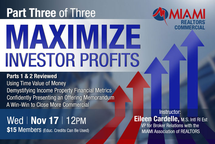 Maximize Investor Profits: Part 3, Financial Analysis for Real Estate