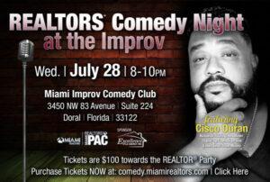 Realtors® Comedy Night at the Improv