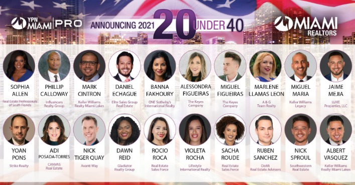 MIAMI Realtors 20 Under 40 Awards Recognizes Young Professionals Making a Difference