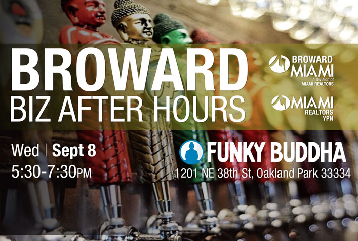 Broward Business After Hours - Funky Buddha - Wed. Sept. 8