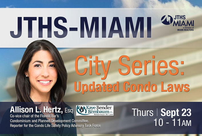 City Series: Updated Condo Laws