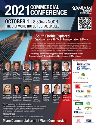 MIAMI Commercial Conference to Explore How New Technology, Innovation is Reshaping the Future of Commercial Real Estate in South Florida